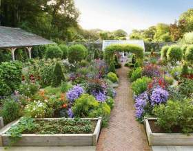 Как украсить сад фото