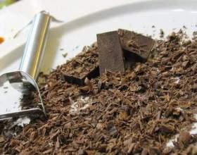 Как украсить шоколадом торт фото