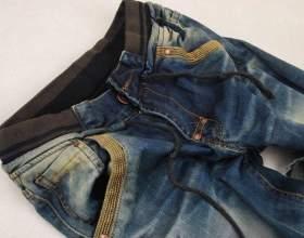 Как украсить старые джинсы фото