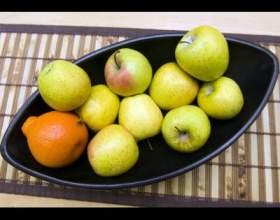 Как украсить стол фруктами фото