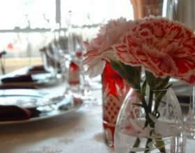Как украсить стол к празднику фото