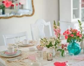Как украсить стол на день святого валентина фото