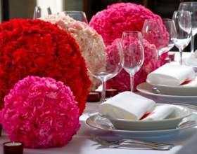 Как украсить стол жениха и невесты фото