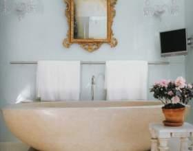 Как украсить зеркало в ванной фото