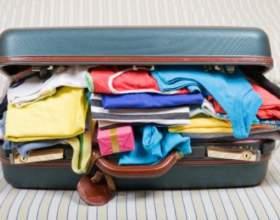 Как уложить вещи в чемодан фото