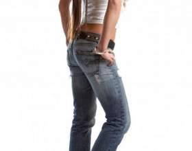 Как ушить джинсы фото