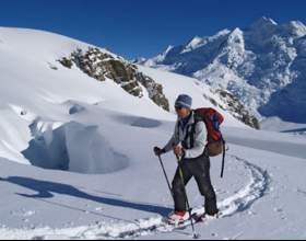 Как установить мягкие крепления на лыжи фото