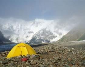 Как установить туристическую палатку фото