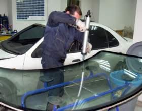 Как установить ветровое стекло фото