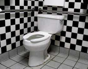 Как устранить засор в туалете фото