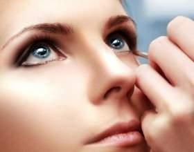Как увеличить глаза при помощи макияжа фото