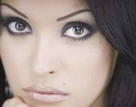 Как увеличить глаза с помощью макияжа фото