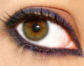 Как увеличить глаза визуально фото