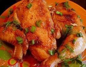 Как в духовке запечь курицу целиком фото
