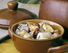 Как варить картошку с мясом фото