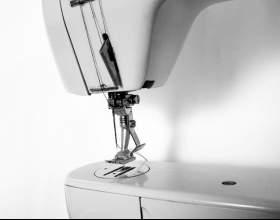 Как вдеть нитку в швейной машинке фото