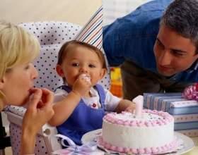Как весело отметить первый день рождения малыша фото