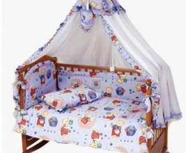 Как вешать балдахин на детскую кроватку фото