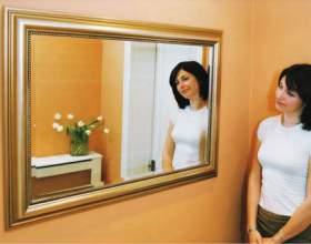 Как вешать зеркало фото