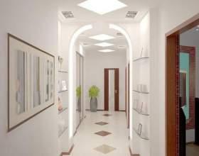 Как визуально увеличить ширину коридора фото