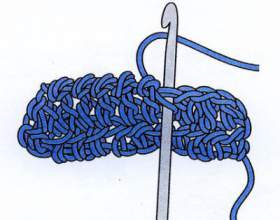 Как вязать крючком столбик без накида фото