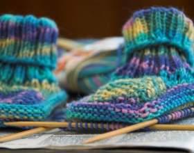 Как вязать носки: рукодельнице на заметку фото