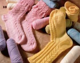 Как вязать носки фото