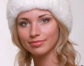 Как вязать шапку из норки фото