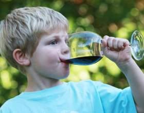 Как влияет алкоголь на детей фото