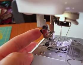 Как вставить нитки в швейную машину фото