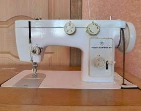 """Как вставить нитку в швейной машинке """"чайка"""" фото"""