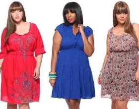 Как выбрать фасоны платьев для полных девушек фото