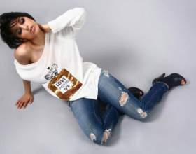 Как выбрать и с чем носить рваные джинсы фото