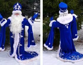 Как выбрать костюм деда мороза фото