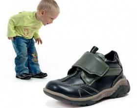 Как выбрать правильную обувь для детей фото