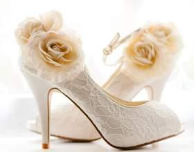 Как выбрать туфли для свадьбы фото