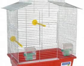 Как выбрать клетку для попугая фото
