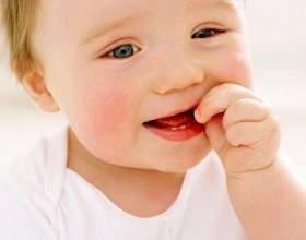 Как выглядит прорезывание зуба фото