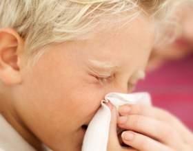Как вылечить затяжной насморк у ребенка фото