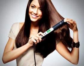 Как выпрямить волосы утюгом фото