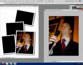 Как вырезать фотографию и вставить другую фото