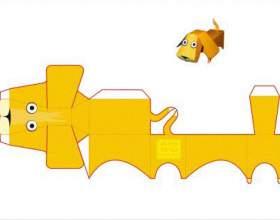 Как вырезать игрушки из бумаги фото