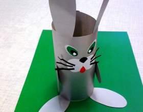 Как вырезать зайца из бумаги фото
