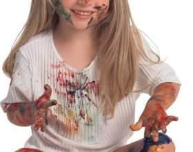 Как вывести штемпельную краску фото