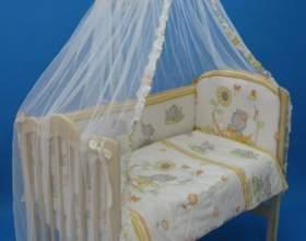 Как закрепить балдахин к детской кроватке фото