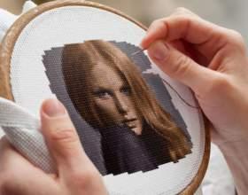 Как закрепить нитку при вышивке крестом фото