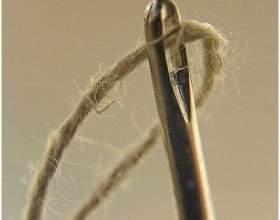 Как закреплять нить при вышивании крестом фото