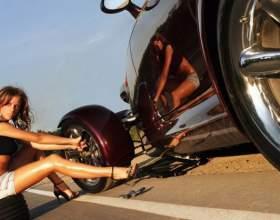 Как заменить автомобильное колесо фото
