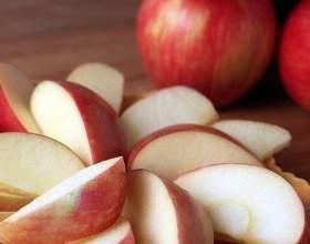 Как замораживать яблоки дольками фото