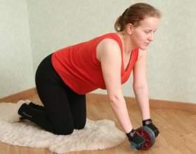 Как заниматься с гимнастическим роликом фото